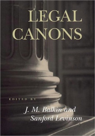 Legal Canons