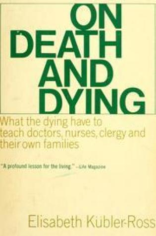 On Death And Dying Book Pdf ePub