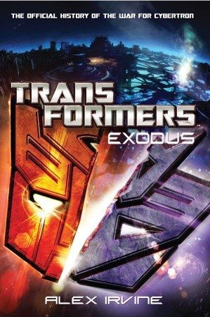 Transformers: Exodus Book Cover