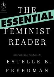 The Essential Feminist Reader Pdf Book