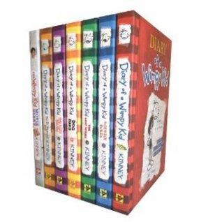 Diary of a Wimpy Kid: Books 1-5 + DIY + Movie Diary
