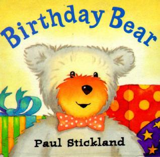 Birthday Bear Cube Board Book