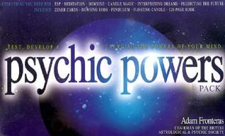 Psychic Powers Pack [With Zener Cards and Dowsing Rod, Pendulum and Floating Candle and Ambient Music]