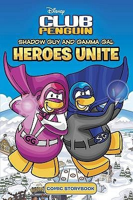 Shadow Guy and Gamma Girl: Heroes Unite.