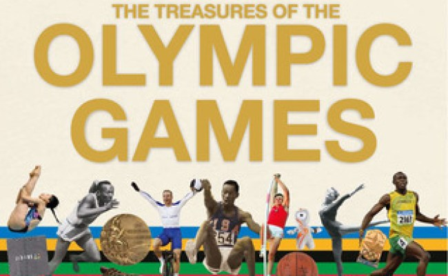 The Treasures Of The Olympic Games An Interactive History
