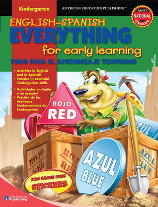 English-Spanish Everything for Early Learning, Kindergarten