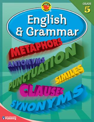 Brighter Child® English and Grammar, Grade 5 (Brighter Child Workbooks)