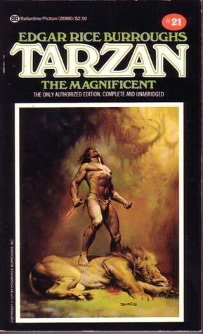 Tarzan the Magnificent (Tarzan, #21)