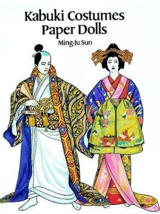 Kabuki Costumes Paper Dolls