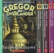 Gregor the Overlander Box Set (Underland Chronicles, #1-4)