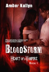 Bloodstorm (Heart of a Vampire, #1)