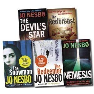 Jo Nesbø Collection: Redbreast, Nemesis, Devil's Star, Snowman & Redemeer