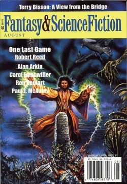 Fantasy & Science Fiction, August 2001 (The Magazine of Fantasy & Science Fiction, #598)