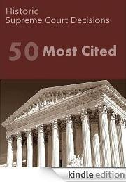 50 Most Cited US Supreme Court Decisions