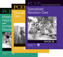 Perinatal Continuing Education Program (PCEP) Neonatal Set: 3-Book Set