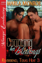 Counting Her Blessings (Riverbend, Texas Heat, #3)