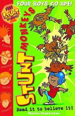 Stunt Monkeys: Four Boys Go Ape