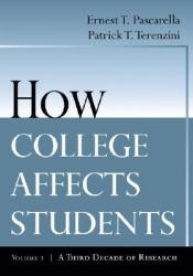 How College Affects Students: Volume 2 - A Third Decade of Research Pdf Book