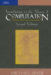Introduction to the Theory of Computation Pdf Book