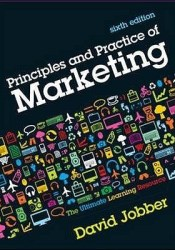 Principles and Practice of Marketing by David Jobber Pdf Book