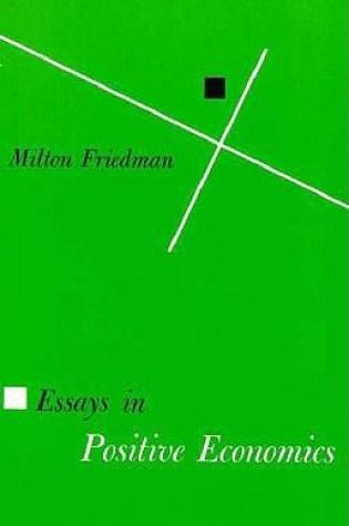 Essays in Positive Economics Book Pdf ePub