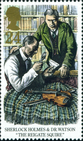 The Adventure of the Reigate Squire (The Memoirs of Sherlock Holmes, #6)