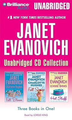 Janet Evanovich Unabridged CD Collection: Full Bloom / Full Scoop / Hot Stuff
