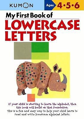 Kumon: My First Book of Lowercase Letters