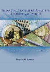 Financial Statement Analysis and Security Valuation Pdf Book
