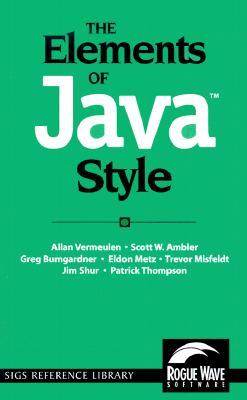 The Elements of Java Style
