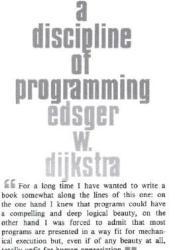 A Discipline of Programming Pdf Book