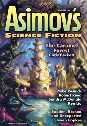 Asimov's Science Fiction, December 2012