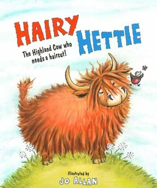 Hairy Hettie: The Highland Cow Who Needs a Haircut!