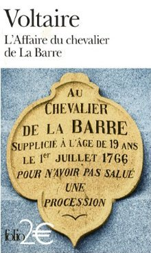 L'Affaire du chevalier de La Barre/ L'Affaire Lally
