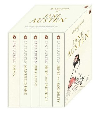 Jane Austen Boxed Set: Persuasion / Pride and Prejudice / Sense and Sensibility / Mansfield Park / Emma