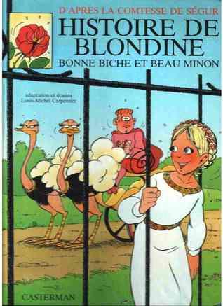 l'histoire de blondine
