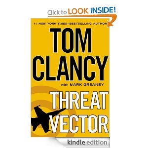 Threat Vector Jack Ryan Universe #15 By Tom Clancy