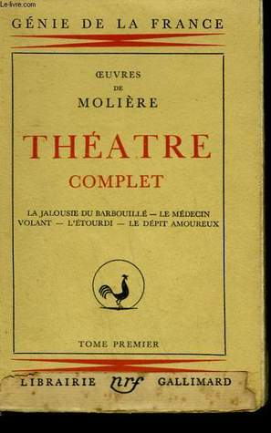 Théâtre Complet - Tome 1