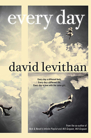 Image result for everyday by david levithan book cover