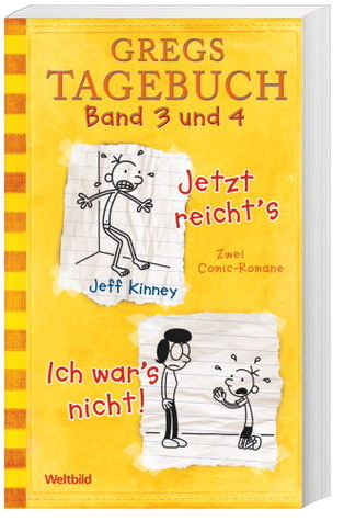 Gregs Tagebuch: #3-4 (Wimpy Kid #3-4)