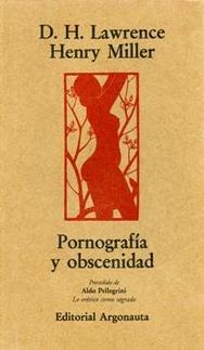 Pornografia y Obscenidad