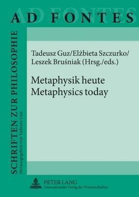 Metaphysics Today