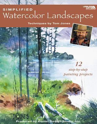 Simplified Watercolor Landscapes (Leisure Arts #22659)