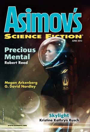 Asimov's Science Fiction, June 2013