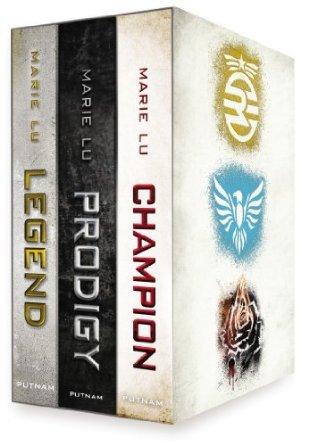 Legend Trilogy Boxed Set (Legend, #1-3)