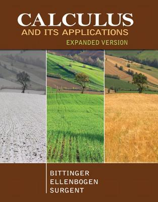 Calculus and Its Applications: Expanded Version