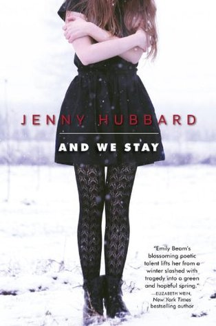 Image result for And We Stay (Jenny Hubbard)