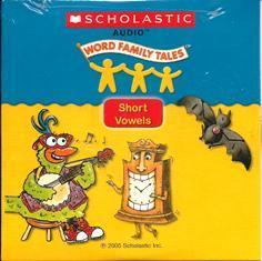 Short Vowels: Audio CD