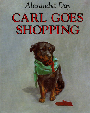 Carl Goes Shopping (Good Dog, Carl, #2)