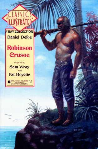 Classic Illustrated Berkley 23 Robinson Crusoe